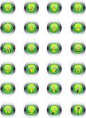 Basic web icons — Stock Vector