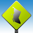 British Columbia province road sign — Stockfoto