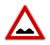 Jorobadas puente señal — Foto de Stock