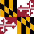 Stock Photo: Maryland state flag
