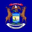 Stock Photo: MichigState flag