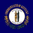 Kentucky state flag — Foto de Stock