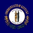 Kentucky state flag — Stockfoto #4280905