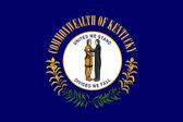 Kentucky state flag — Stock Photo