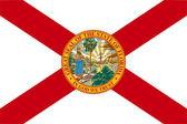 Florida state flag — Stock Photo