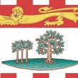 Prince Edward Islands flag — Stockfoto #4591418