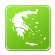 Greece map button — Stockfoto