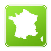 France map button — Stock Photo