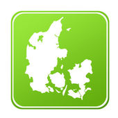 Denmark map button — Stock Photo