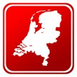 Stock Photo: Netherlands map button