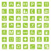 Kırsal park işaretleri — Stok fotoğraf