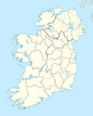 Republic of Ireland map — Stock Photo