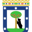 Stock Photo: Madrid coat of arms