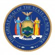 Stock Photo: Great Seal of New York