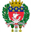 Stock Photo: Paris coat of arms