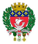 Paris coat of arms — Stock Photo