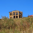 Stock Photo: Unfinished abandoned house.