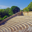 Stock Photo: Stone amphitheater