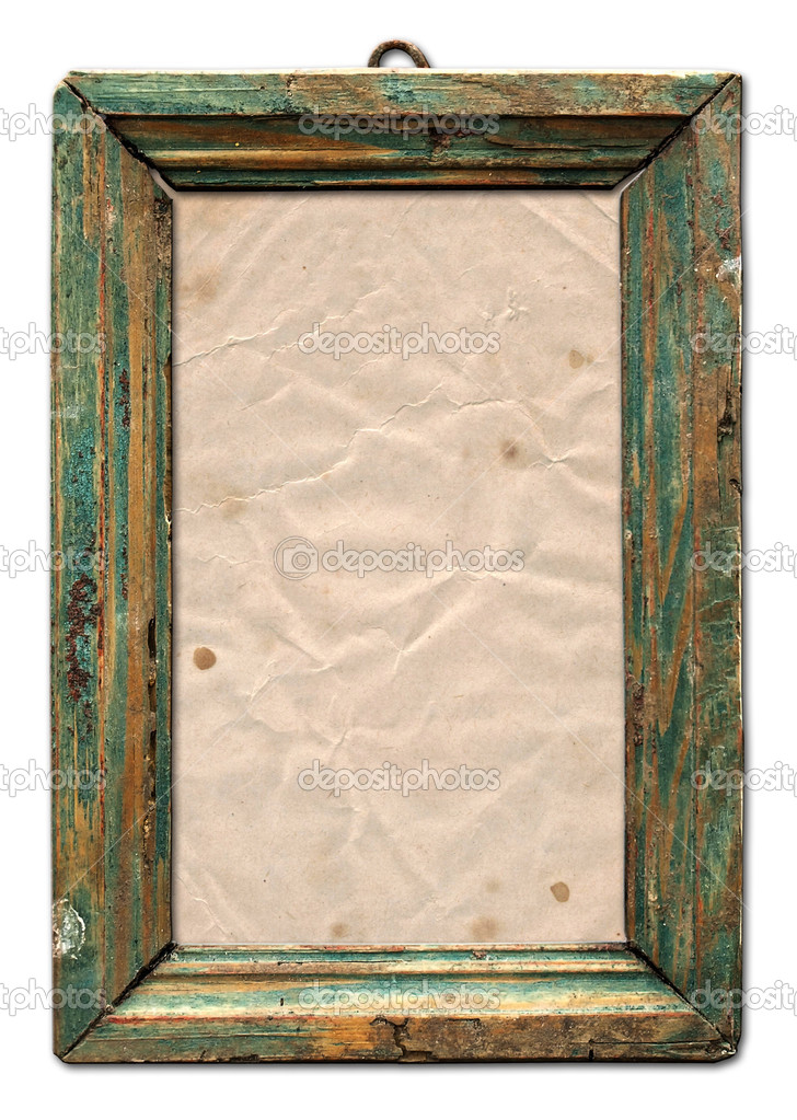 Old Wooden Picture Frames The Old Wooden Frame For a