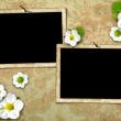 Frames on the old wall — Stock Photo #4513377