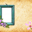 Old wooden frame — Stock Photo #4574086