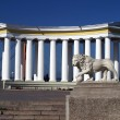 Stock Photo: Odessa, Ukraine. Colonnade