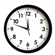 Clock face - Foto Stock