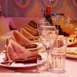 banquet table — Stock Photo #4426150
