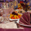 Banquet table — Stock Photo #4426154