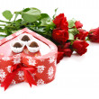 Gift for St.Valentine's Day — Stockfoto