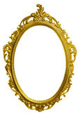 Antique golden carved frame — Stock Photo