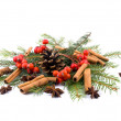 Aromatic Christams decoration — Stock Photo