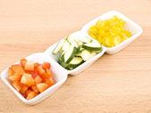 Fresh vegetable - healthy snack — Stock Photo