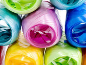 Novelos coloridos de fitas — Foto Stock