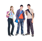 Three teenagers — Stock Photo