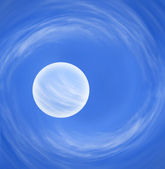 Planet in the cosmos — Stock Photo