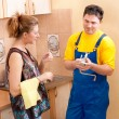 Plumber man — Stock Photo