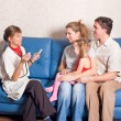 Stock Photo: The family doctor
