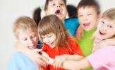 Crianças alegres — Foto Stock