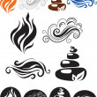 The four elements of life — Stock Vector #4735384