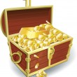 Treasure chest — Vettoriale Stock #5111921