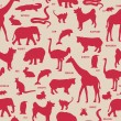 Animals pattern. — Vecteur