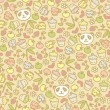 Royalty-Free Stock Векторное изображение: Seamless panda pattern.