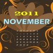Royalty-Free Stock Vector Image: November 2011