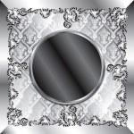 Wedding Silver Background — Stock Vector