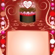 Royalty-Free Stock Vector Image: Love Party Template 3