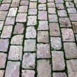 Bricks on the ground - Stock Photo