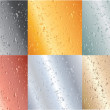 Metallic plates — Stock Photo