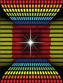 Mosaic color illustration vector design — Stock Photo