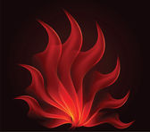 Vector abstract illustration against a dark background — Stock Photo
